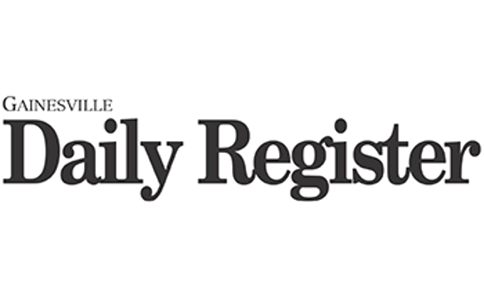 The Gainesville Daily Register's logo, linking to a media mention of Expeal