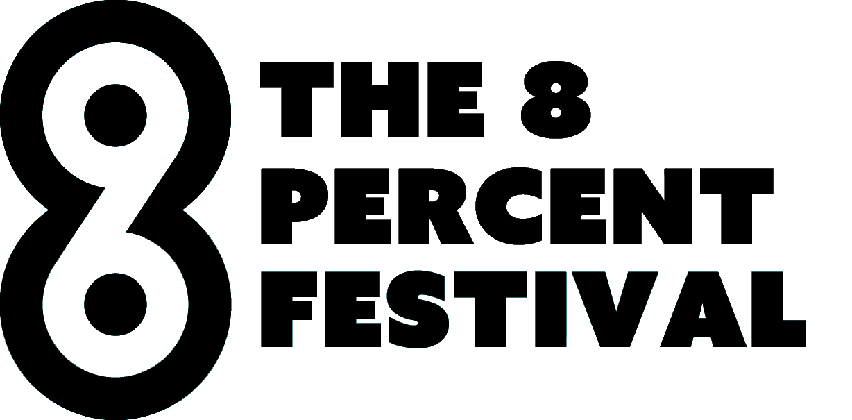 The 8 Percent's logo, linking to a media mention of Expeal.