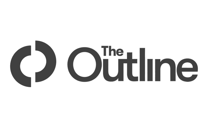 The Outline's logo, linking to a media mention of Expeal.
